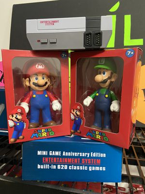 Mini Game Anniversary Edtion ENTERTAINMENT SYSTEM built in 620 Classic games Arcade Games 🕹 Mario and Luigi Figure Included SHIPPING AVAILABLE ✅🚚 for Sale in Hallandale Beach, FL