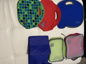 6 Byo Lunchbags for Sale in Brandon, FL