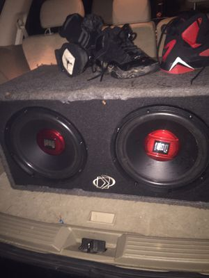 Two dual 12's in box for Sale in Columbia, SC