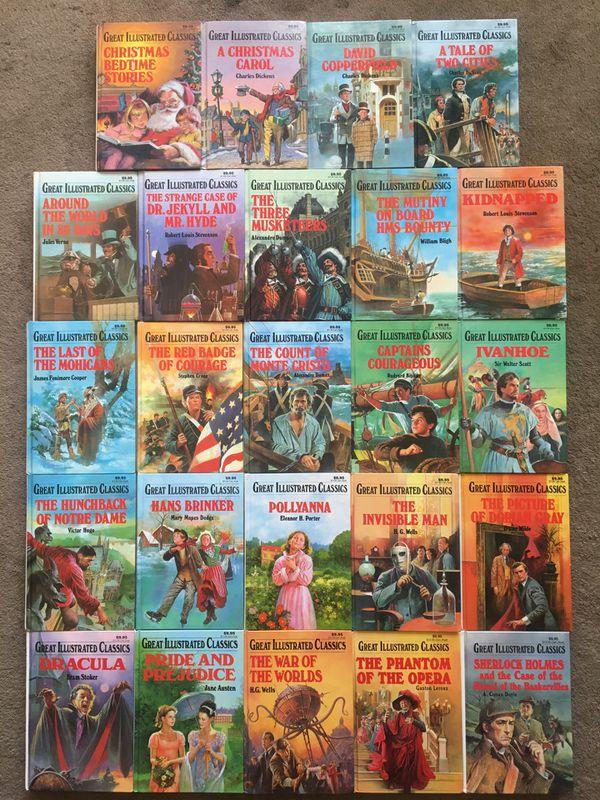 24 Great Illustrated Classics