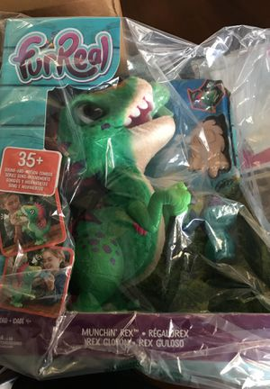 FurReal Munchin' Rex new, sealed 35+ sound & motion combinations! for Sale in Marietta, GA
