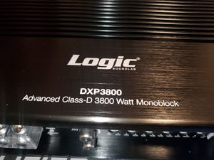 1 Channel Class D mono Micro Power Amplifier 3800W 1 ohm Car Audio Amp for Sale in The Bronx, NY