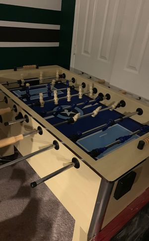 Foosball Table all wooden! In great condition for Sale in Frisco, TX