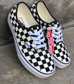 VANS AUTHENTIC GOLDEN COAST CHECKERBOARD for Sale in Rancho Cucamonga, CA