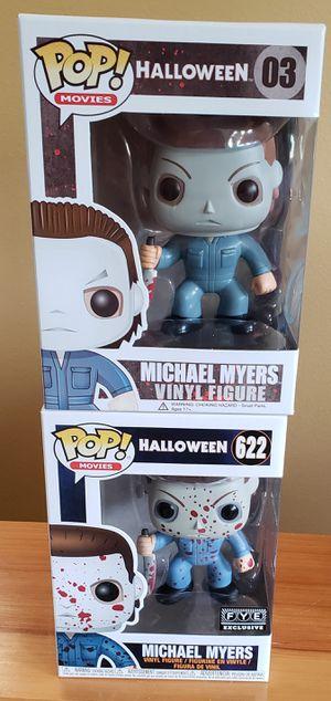 Halloween Michael Myers Funko Pop lot! for Sale in Arlington, WA