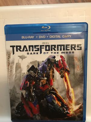 Transformers: Dark of the moon; Blu-ray + DVD + Digital Copy for Sale in Bellevue, WA