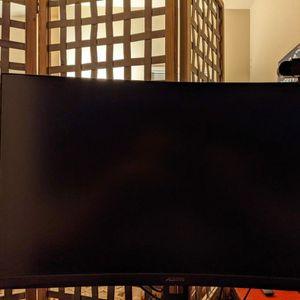 Gigabyte Aorus CV27F 27-inch Curved VA LED Gaming Monitor for Sale in San Antonio, TX