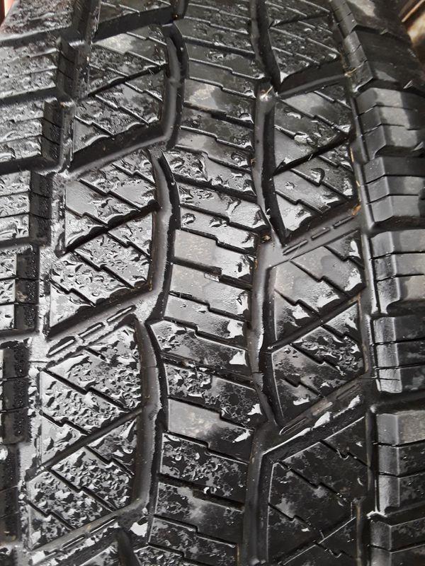 265 75 R16 all terrain truck tires $350