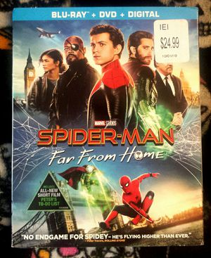 Spider-Man - Far From Home Blu-Ray for Sale in Kent, WA