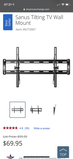 Tilting TV Wall Mount for Sale in Los Angeles, CA