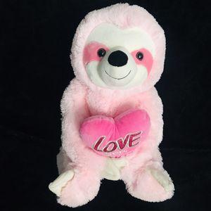 """🦥 Pink Sloth Large 20"""" Hug Fun Plush Stuffed Animal Toy for Sale in Corona, CA"""
