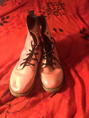 Pink Doc Martin style boots for Sale in La Puente, CA
