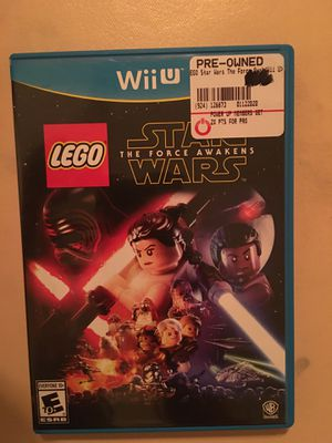 Nintendo Wii U LEGO Star Wars the force awakens for Sale in Visalia, CA