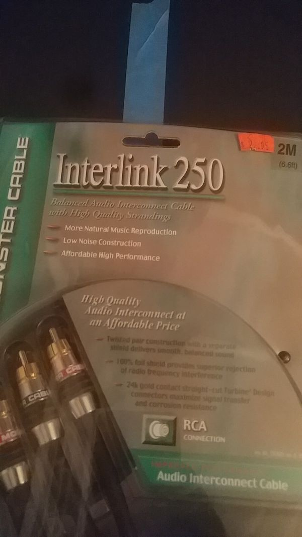Interlink 250 monster cable