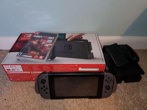 Nintendo Switch w/ NBA 2k20