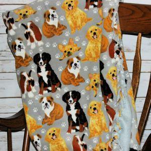 Dog Breed Fleece Blanket for Sale in Keystone, SD