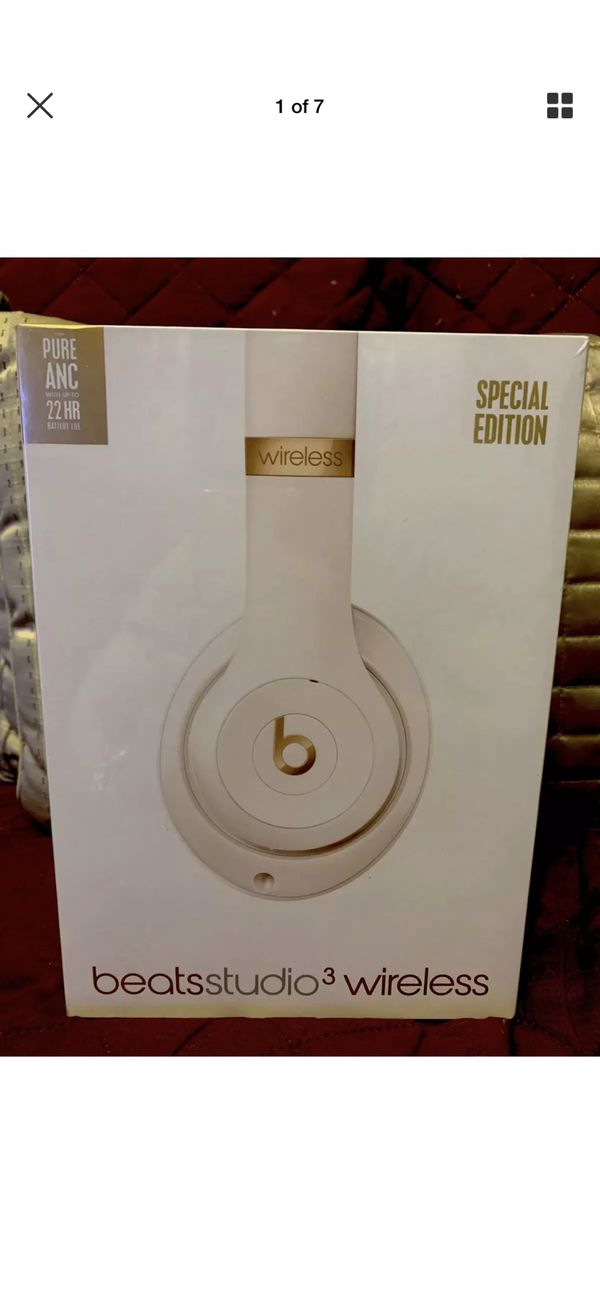 Beats By Dr. Dre -Studio Over Ear Wireless Headphones- Brand New