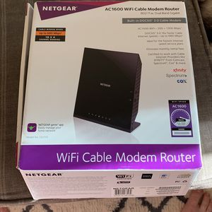 Netgear AC1600 Wifi Cable Modem Router for Sale in Irvine, CA