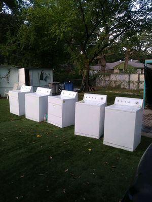 Lavadora /washer whirlpool kenmore for Sale in Dallas, TX