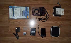 Sony Cyber-shot DSC-HX9V 16.2MP Digital Camera - Black - With extras for Sale in Chantilly, VA