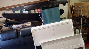 White full size bed frame for Sale in Bradenton, FL