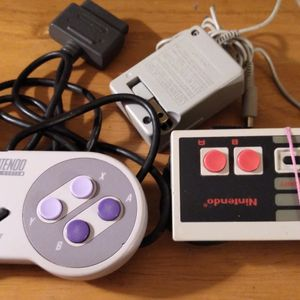 1 Super Nintendo Controller 1 Nintendo Controller 1 DS Power Adapter Buying Separate By Them Together for Sale in Mount Vernon, WA