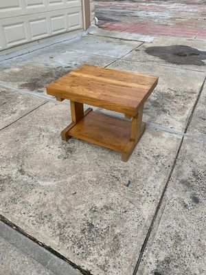 Wood side table for Sale in Queens, NY