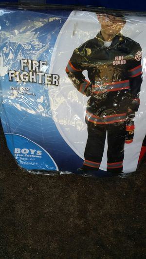 Fire fighter Halloween costume for Sale in Oakland, CA