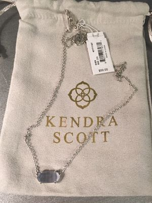 Kendra Scott Ever - Slate Silver Necklace for Sale in Irving, TX