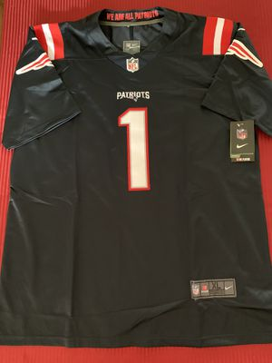 Cam Newton New England Patriots Jersey NEW With Tags Mens XL for Sale in San Diego, CA
