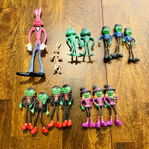 Spaghetti Bendi Halloween Action Figure Toy Bundle Lot for Sale in Sanford, ME