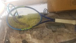 2 used tennis rackets for Sale in Houston, TX