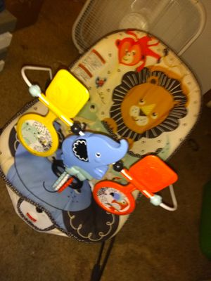 Fisher price- baby bouncer-Lion Around!😺 for Sale in Dallas, TX
