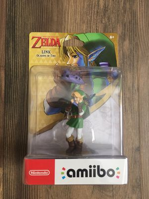 Nintendo Amiibo - Link - Legend of Zelda: Ocarina of Time - Switch Wii U 3DS for Sale in Brentwood, CA