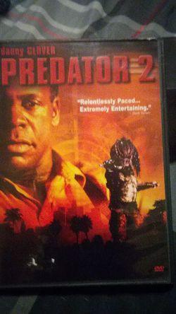 PREDATOR 2 dvd for Sale in Yakima,  WA