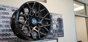 New 20x10 XD series Wheels Black Milled Rims 6lugs Fit Silverado Tacoma GMC Sale set of 4 for Sale in Corona, CA