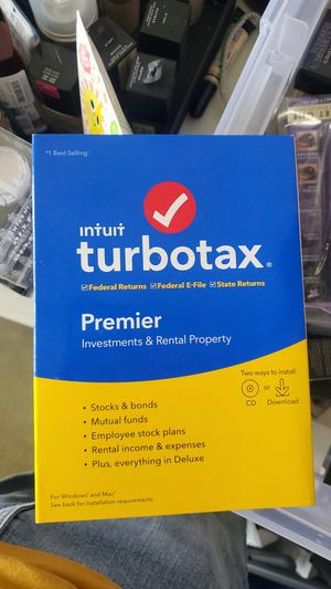 Turbo tax for Sale in City of Industry, CA