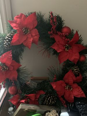Christmas wreath for Sale in Dauphin, PA