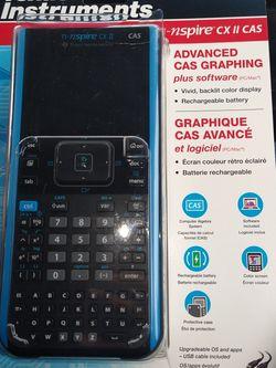Texas Instruments TI-nspire Cx II Cas for Sale in Riverside,  CA