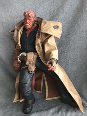 "Hellboy figurine - 18"" action figure mezco for Sale in Washington, DC"