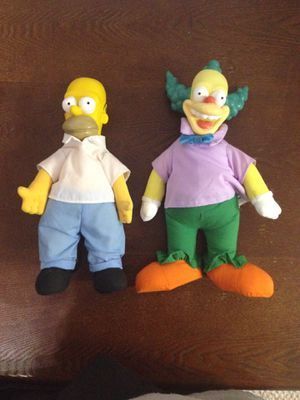 Homer Simpson and Krusty for Sale in Chambersburg, PA