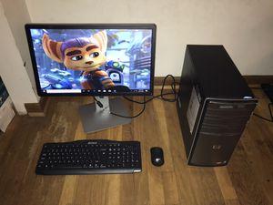 Quad Core HP Desktop Computer (Win 10/Office) for Sale in Bartlett, IL
