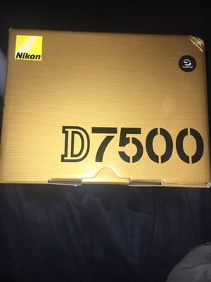 Nikon D7500 ( No Lens Body Only ) New for Sale in Cerritos, CA