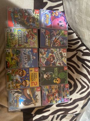 switch games for Sale in San Jose, CA