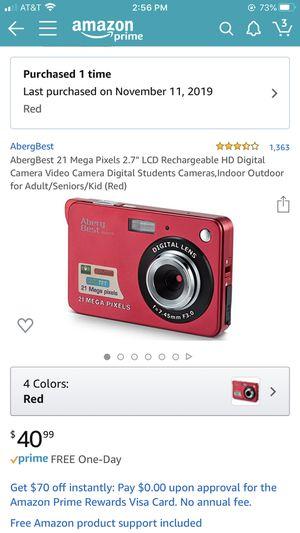 Digital Camera 21 mega pixels for Sale in Belleair Bluffs, FL