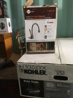 Instant hot water dispenser , Tankless w/sink perfect for Sprinter conversions or rv ... for Sale in San Jose, CA