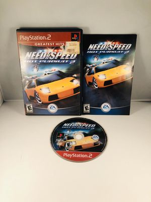 Need For Speed Hot pursuit 2 PlayStation 2 for Sale in Long Beach, CA