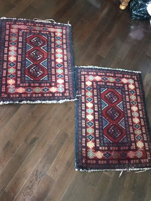 Vintage hand made persian rug set for Sale in Los Angeles, CA