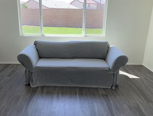 Couch with slip cover for Sale in Temecula, CA