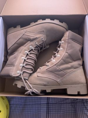 Rothco army / work boots steel toe size 9 for Sale in Lumberton, NC